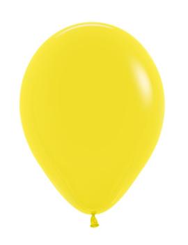 Metallic Geel   Ballon/ Stuk
