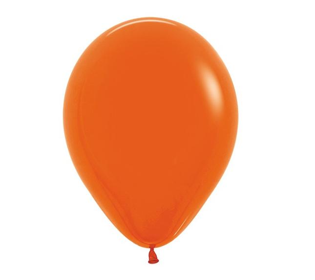 Oranje | Ballonnen 12 Stuks