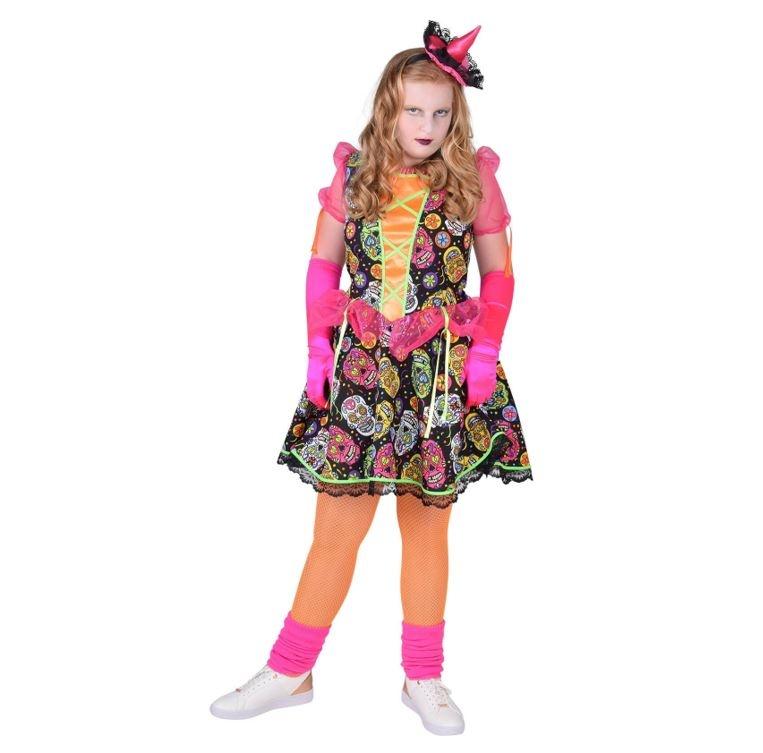 Los Muertos Kleedje Kinderkostuum   Halloweenkostuum
