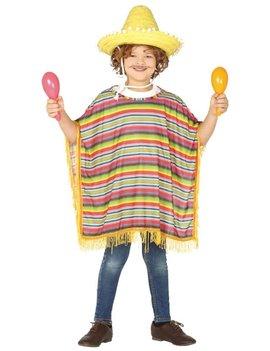 Mexicaanse Poncho | Kinderkostuum