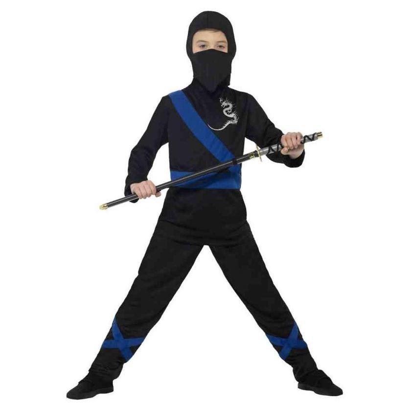 Blauwe Ninja Strijder | Kinderkostuum