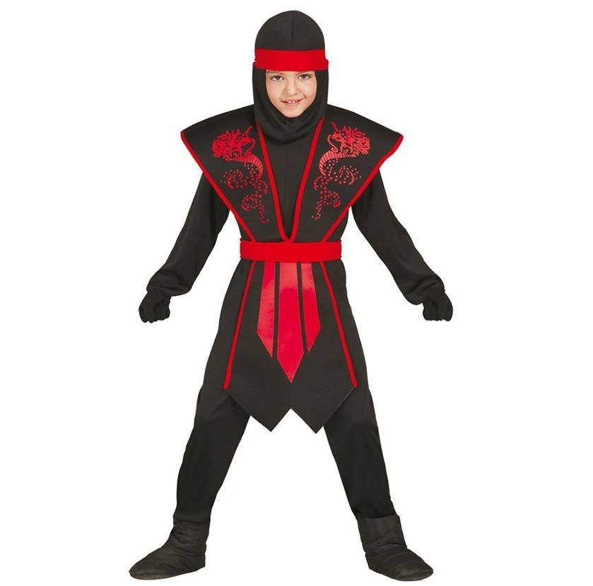 Rode Ninja Strijder   Kinderkostuum