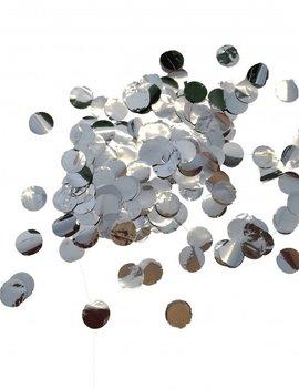 Tafel/ Ballonconfetti  Zilver 10mm | 250gram