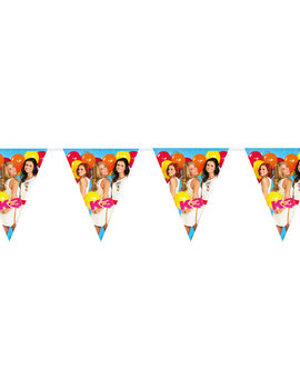 Vlaggenlijn K3 Party  | 10m Lengte