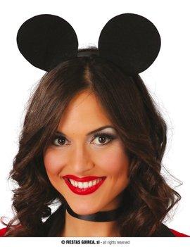 Diadeem Mickey Mouse | Muizenoortje Zwart