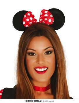 Diadeem Minnie Mouse | Muizenoortje Met Strik