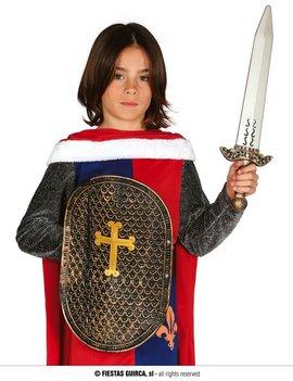 Ridder Zwaard  met Schild | Kinderset