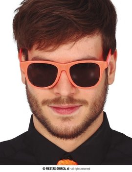 Fluo Bril | Flashy Neon Oranje