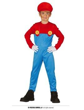 Mario Bros Kostuum | Super Mario Kinderkostuum