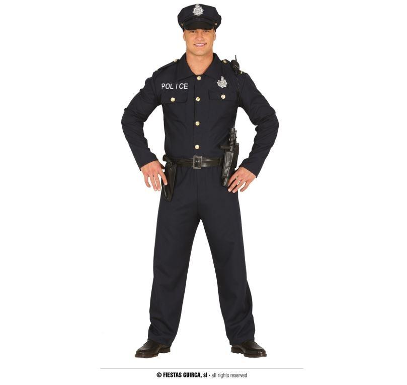 Politieman Kostuum |Herenkostuum