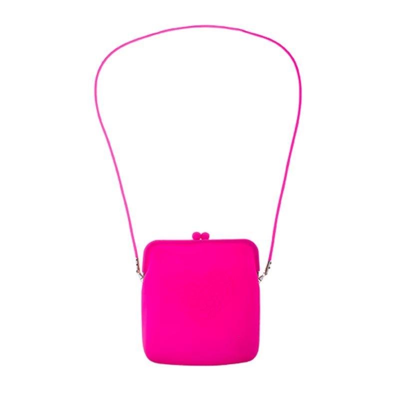 Fluo/ Neon Tasje   Roze