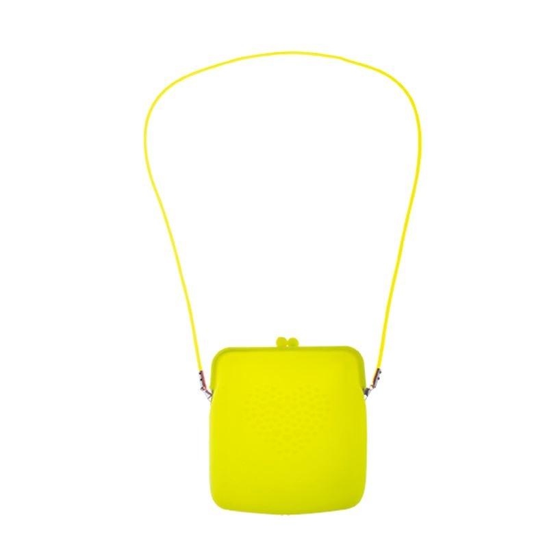 Fluo/ Neon Tasje | Geel