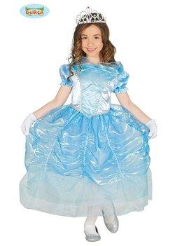 Prinsessenkleed Magali Blauw | Kinderkostuum