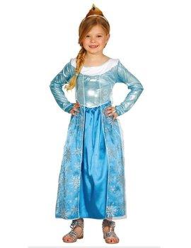 Sneeuwprinses / Blauw | Kinderkostuum