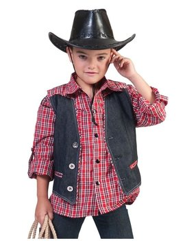 Cowboy Vestje Jeans  Kinderkostuum