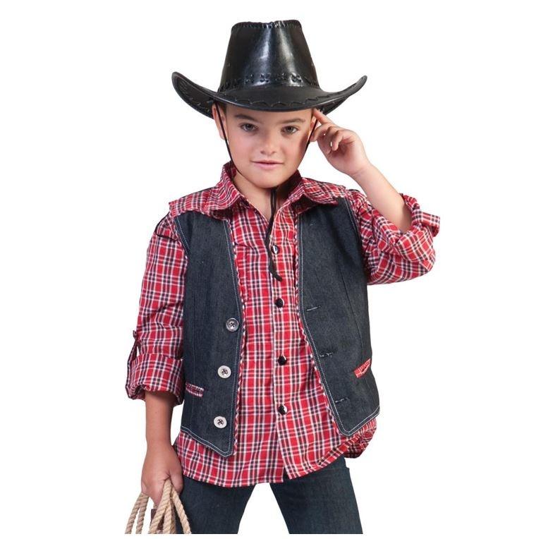 Cowboy Vestje Jeans| Kinderkostuum