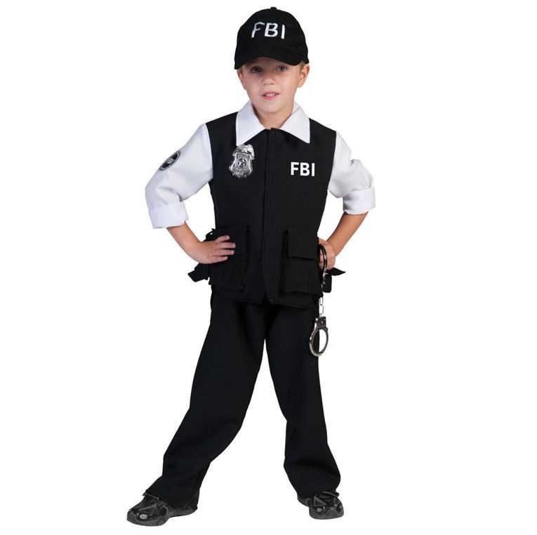 FBI Agent | Kinderkostuum