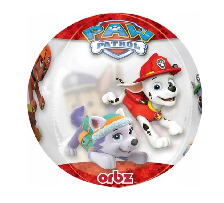 Orbz Paw Patrol | Transparant Ballon - 40cm