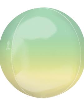 Orbz  Groen/ Geel Ballon | 38cm