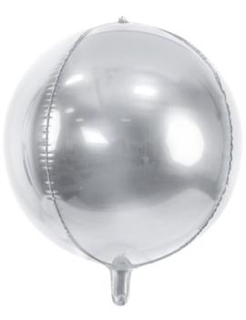 Orbz  Zilver  Ballon | 38cm
