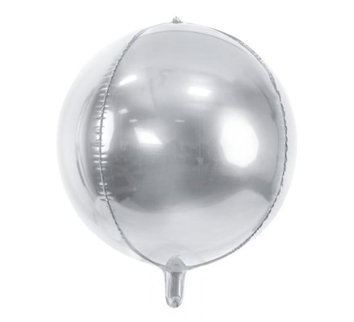 Orbz  Zilver  Ballon   38cm