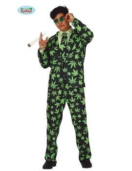 Kostuum Marihuana | Drugsbaron