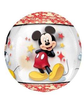 Orbz Mickey Mouse | Transparant Ballon - 41cm