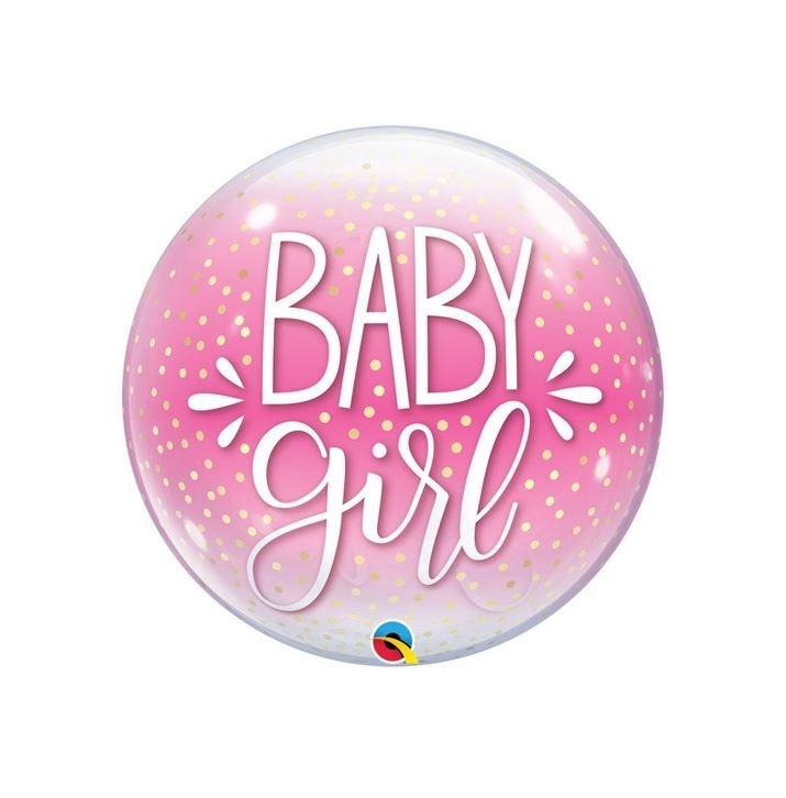 Bubble Baby Girl | Ballon - 55cm