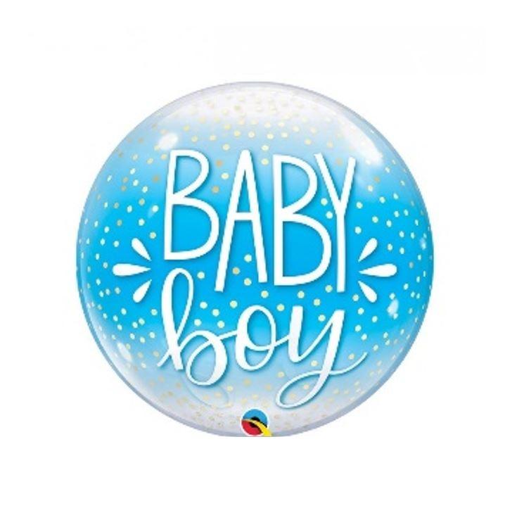 Bubble Baby Boy | Ballon - 55cm