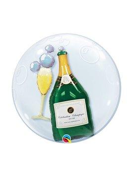 Bubble Champagne   Ballon - 61cm