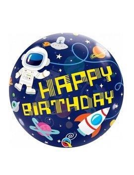 Bubble Happy  Birthday Space | Ballon - 55cm