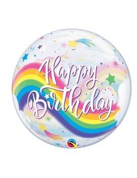 Bubble Happy  Birthday Unicorn | Ballon - 55cm