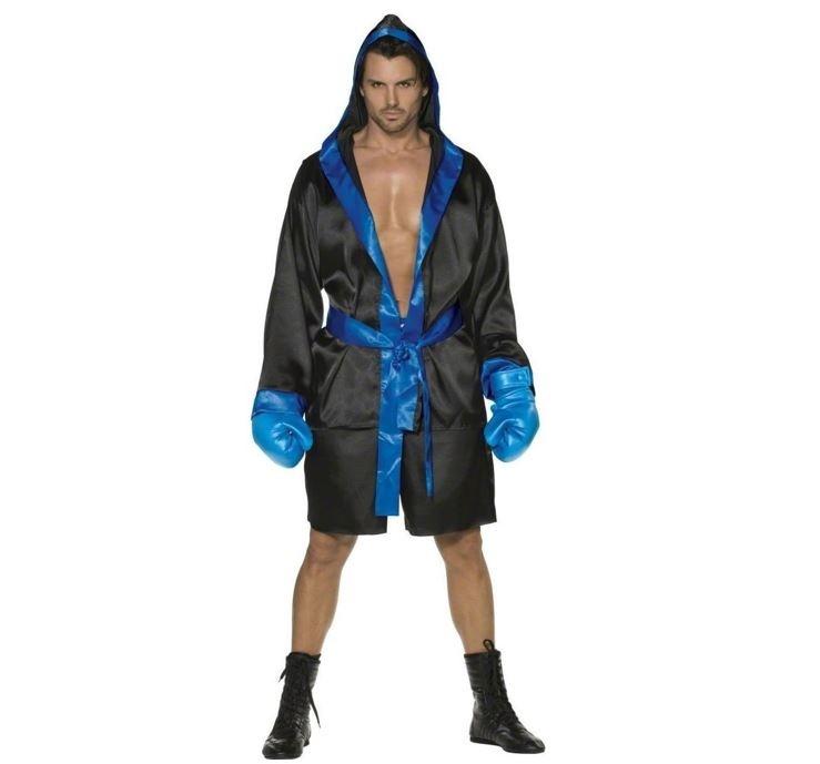 Boxser K.O. Kostuum Blauw | Heren