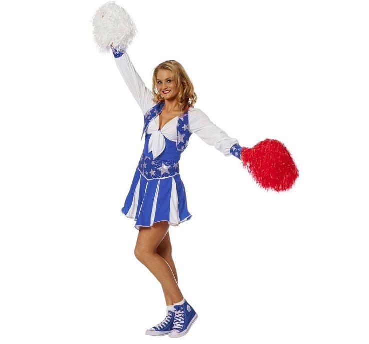 American Cheerleader Girl | Kostuum Cheerleader