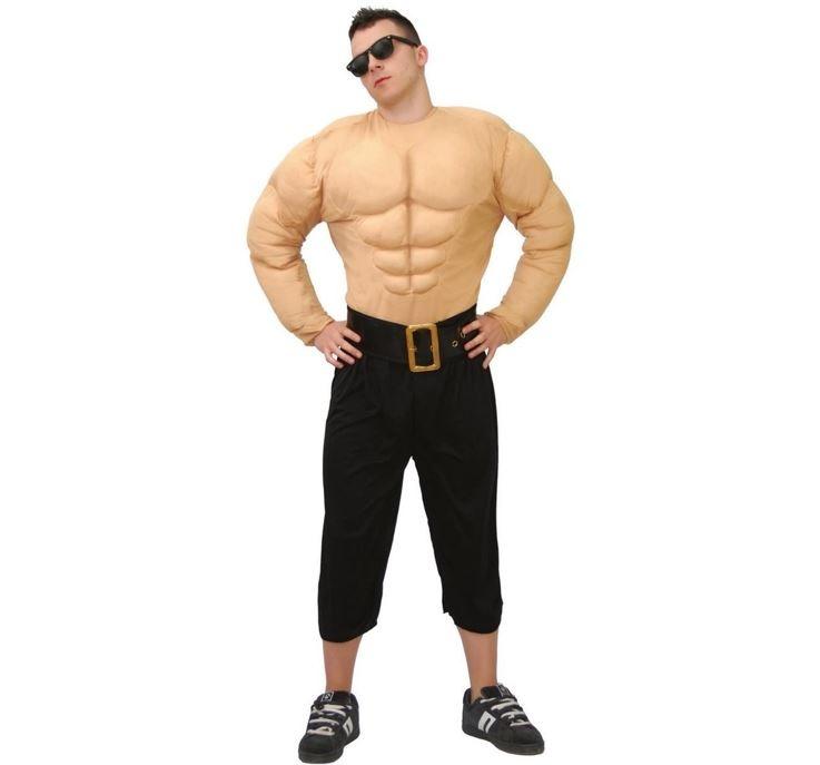 Bodybuilder Spieren | Herenkostuum