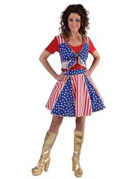 Cowgirl Country Cheerleader | Dameskostuum