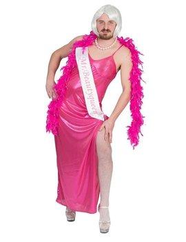 Mr. Beauty Queen Pink| Kostuum