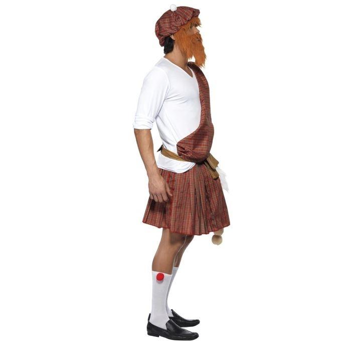 Schot Highlander Met Grote Willy   Herenkostuum