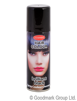 Haarspray 125ml | Zwart