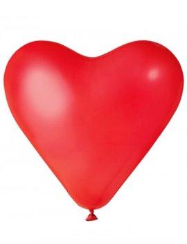 Rode Hartjes | Ballonnen 6 Stuks