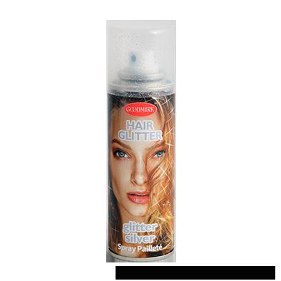 Haarspray 125ml   Glitter Zilver