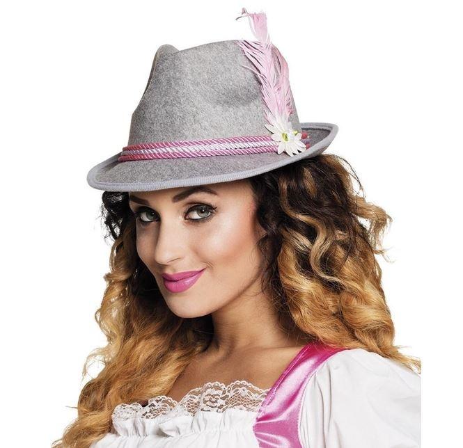 Tiroler Hoedje Roze   Dames