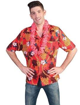 Hawaiihemd Rood | Kostuum