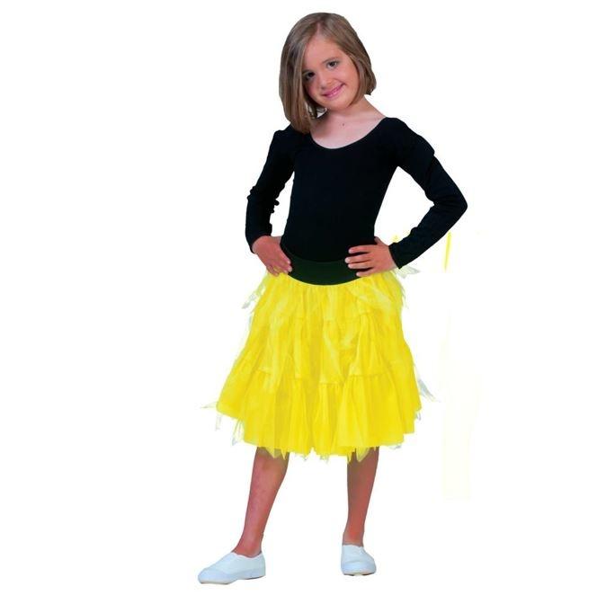 Petticoat / Tutu | Fluo Geel | Kids