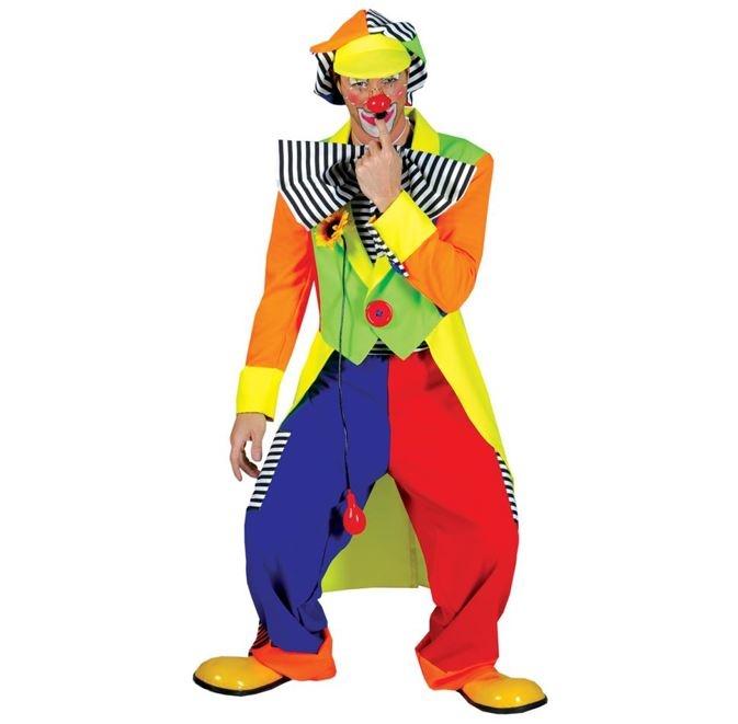 Clown Olaf | Herenkostuum