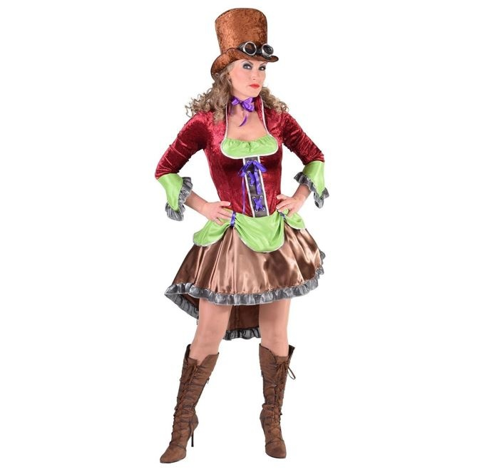 Steampunk Burlesque | Dameskostuum