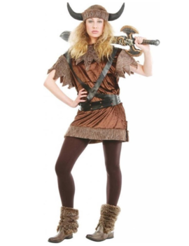 Viking Barbarian Girl | Dameskostuum