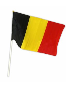 Vlagje België | Belgische Kleuren