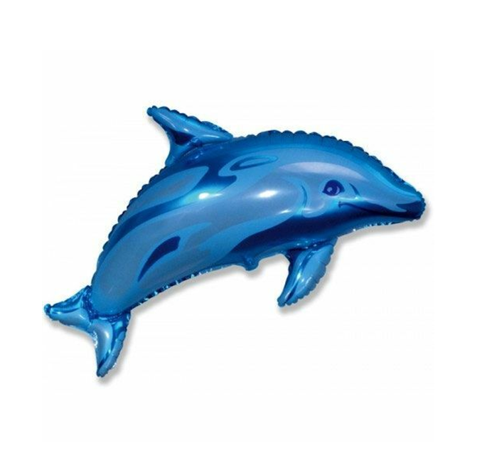 Dolfijn Folieballon   81cm