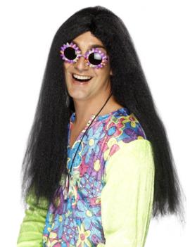 Hippie Pruik Halflang | Zwart